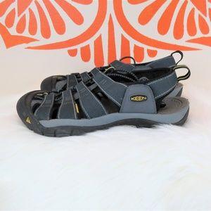 Keen Waterproof Blue Hiking Sandals 10.5
